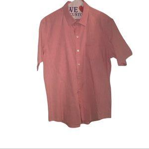 Zachary Prell Men's Short Sleeve Dress Shirt